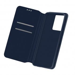 Kunstleder Cover Classic Edition für Samsung Galaxy S21 Ultra â€? Dunkelblau