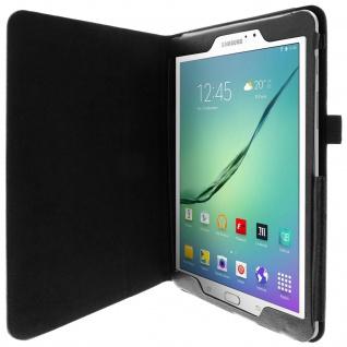 Flip-Schutzhülle mit Standfunktion für Samsung Galaxy Tab S2 9, 7'' - Schwarz