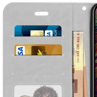 Flip Stand Cover Brieftasche & Standfunktion Apple iPhone XS Max - Weiß - Vorschau 5