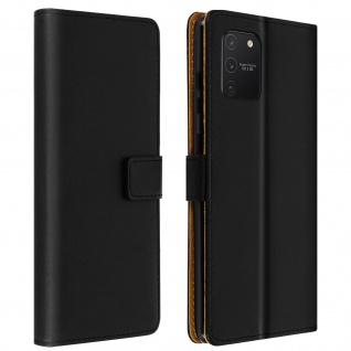 Samsung Galaxy S10 Lite Cover aus Kunstleder mit Standfunktion � Schwarz