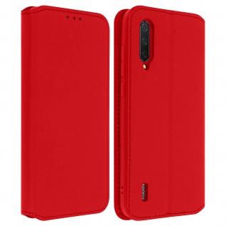 Kunstleder Cover Classic Edition Xiaomi Mi 9 Lite - Rot