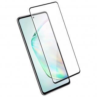 4Smarts - Schutzfolie Second Glass für Samsung Galaxy Note 10Lite - Rand Schwarz
