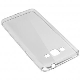 Samsung Galaxy Grand Prime transparente Hülle + Glas-Displayschutzfolie