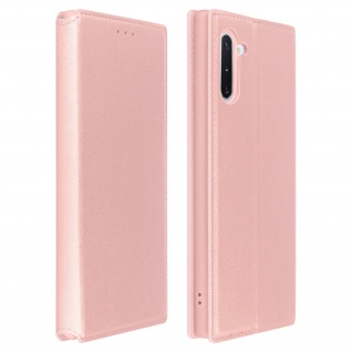 Kunstleder Cover Classic Edition Samsung Galaxy Note 10 - Rosegold
