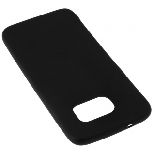 Samsung Galaxy S7 Edge schwarze ultradünne Schutzhülle aus Silikon