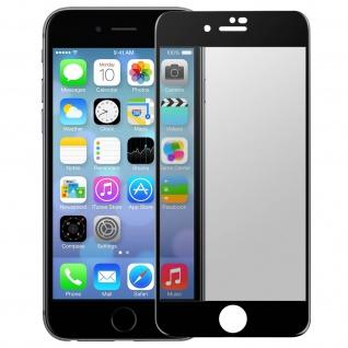 Premium Schutzfolie für iPhone 7 Plus/8 Plus mit Blickschutz - Schwarz