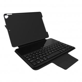Apple iPad 2020 / 2019 10.2 Case Azerty Tastatur, Gecko Covers ? Schwarz