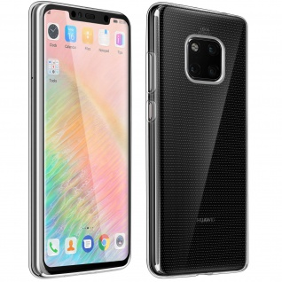 360° Protection Pack Huawei Mate 20 Pro: Backcover + Displayschutzfolie aus Glas