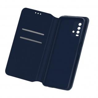 Kunstleder Cover Classic Edition für Xiaomi Redmi 9T â€? Dunkelblau