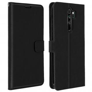 Flip Stand Case Brieftasche & Standfunktion Xiaomi Redmi Note 8 Pro ? Schwarz