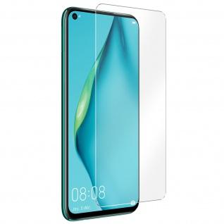 Huawei P40 Lite Displayschutzfolie, Full Cover Bildschirmschutz - Transparent
