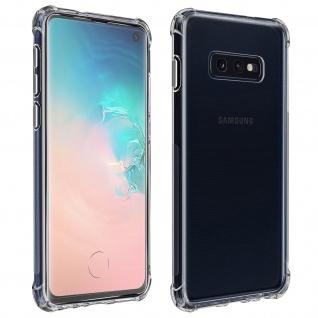 Premium Schutz-Set Samsung Galaxy S10e Schutzhülle + Schutzfolie ? Transparent