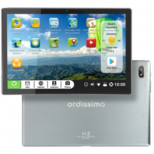 "Ordissimo Celia Tablet mit 10"" Bildschirm, SIM-Kartensteckplatz 4G ? Grau"