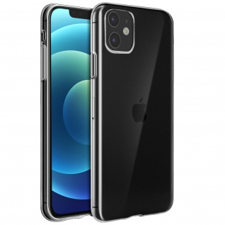 Apple iPhone 12 / 12 Pro Schutzhülle Silikon Second Skin ? Transparent