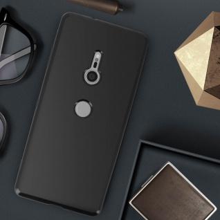 Flexible kratzfeste Schutzhülle aus Silikon für Sony Xperia XZ3 - Schwarz - Vorschau 4