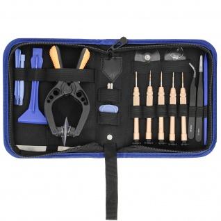 Universal Werkzeuge-Set für Repataturen von Geräten - 19 Stk. - Schwarz