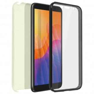 Schutzhülle für Huawei Y5p, Vorder- + Rückseite ? Gold