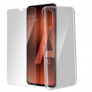 360° Protection Pack für Galaxy A70: Cover+ Displayschutzfolie, Transparent - Vorschau 2