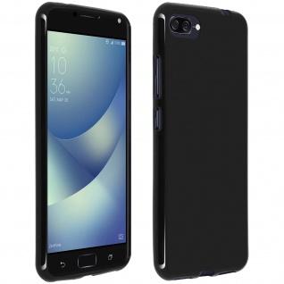 Unverbrüchliche schwarze Schutzhülle aus Silikon Asus Zenfone 4 Max Pro / Plus