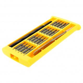 Reparaturwerkzeugsatz 20 Bits Schraubendreher magnetisch + spitze Pinzette LinQ