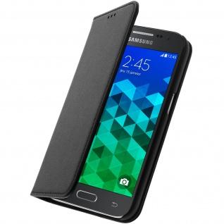 Bigben Flip-Schutzhülle mit Kartenfach für Samsung Galaxy Core Prime - Schwarz