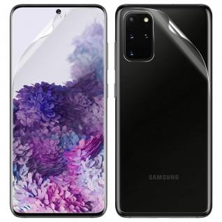 Schutzfolien-Set für Samsung Galaxy S20 Plus, weich und kratzfest - Transparent