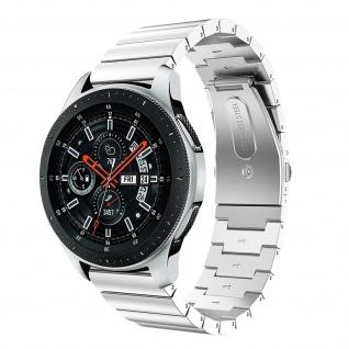 Premium Armband aus Edelstahl für Samsung Galaxy Watch 46 mm ? Silber