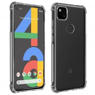 Premium Schutz-Set für Google Pixel 4A Schutzhülle + Schutzfolie ? Transparent