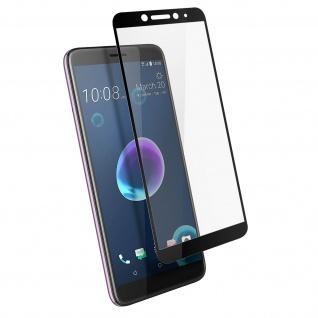 9H Härtegrad kratzfeste Glas-Displayschutzfolie für HTC Desire 12 â€? Schwarz