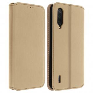 Kunstleder Cover Classic Edition Xiaomi Mi 9 Lite - Gold