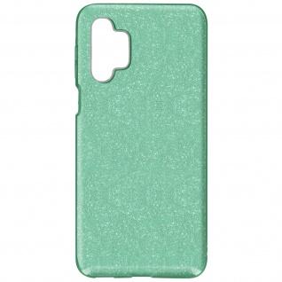 Schutzhülle, Glitter Case für Samsung Galaxy A32 5G, shiny & girly Hülle â€? Grün
