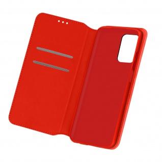 Kunstleder Cover Classic Edition für Samsung Galaxy A32 5G ? Rot