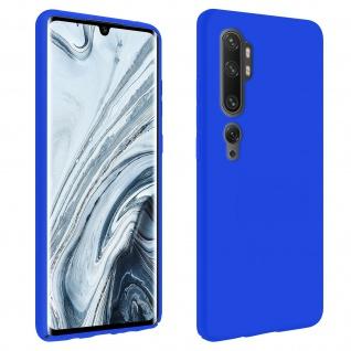 Halbsteife Handyhülle Xiaomi Mi Note 10 / Note 10 Pro, Soft Touch - Blau