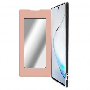 Spiegel Hülle, dünne Klapphülle für Samsung Galaxy Note 10 - Rosegold