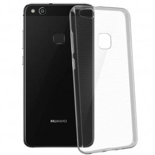 Huawei P10 Lite Schutzhülle Silikon ultradünn (0.30mm) ? Transparent