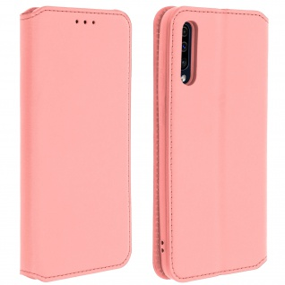 Kunstleder Cover Classic Edition Samsung Galaxy A50 - Rosegold