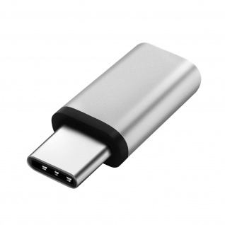 USB-Typ C auf Micro-USB Adapter - Weiß