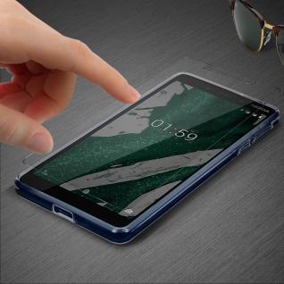 360° Protection Pack für Nokia 1 Plus: Cover+ Displayschutzfolie, Transparent