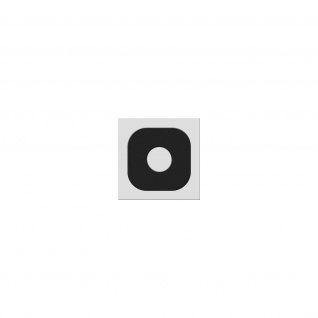 Kamera Linse für Rück-Kamera Samsung Galaxy Xcover 4 - Schwarz