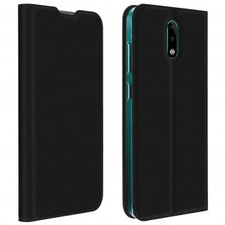Klappetui mit Kartenfach & Standfunktion Nokia 2.3 - Schwarz