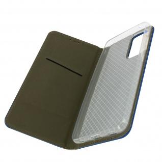 Samsung Galaxy A72 Premium Book Cover mit Standfunktion � Dunkelblau