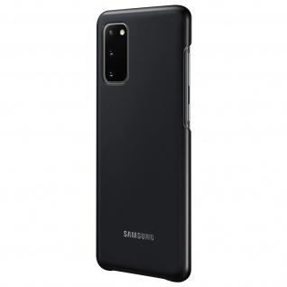 Original Samsung LED Cover, Schutzhülle für Samsung Galaxy S20 - Schwarz