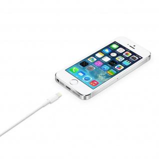 Ladekabel iPhone/iPad/ USB ? Kabellänge: 2m ? Weiß - Vorschau 2