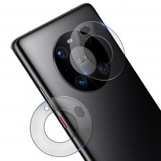 2x Kamerafolien Huawei Mate 40 Pro /Pro Plus Flexibles Glas, Benks ? Transparent