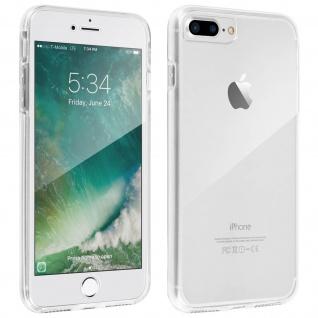 Schutzhülle für Vorder- und Rückseite Apple iPhone 7 Plus, 8 Plus ? Transparent - Vorschau 3