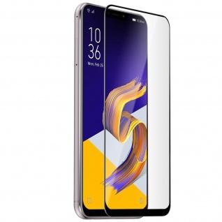 9H kratzfeste Glas-Displayschutzfolie für Asus Zenfone 5 ZE620KL - Schwarz