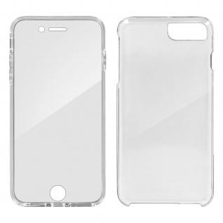 Schutzhülle für Vorder- und Rückseite Apple iPhone 7 Plus, 8 Plus ? Transparent - Vorschau 2