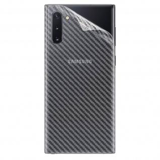 Imak Rückseitenschutz, flexible Rückfolie für Galaxy Note 10 - Transparent