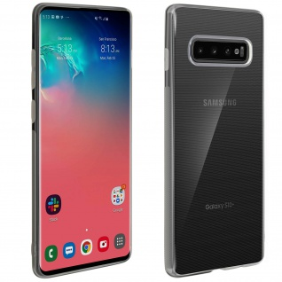 Samsung Galaxy S10 Plus Schutzhülle Backcover Silikon Second Skin - Transparent