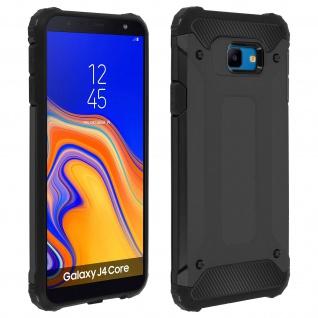 Defender II schockresistente Schutzhülle (1, 80M) Samsung Galaxy J4 Core Schwarz